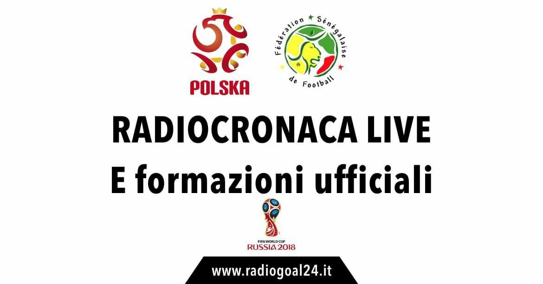 Polonia-Senegal formazioni ufficiali