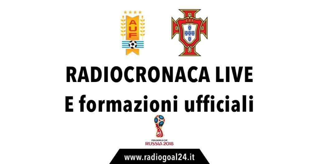 Uruguay-Portogallo formazioni ufficiali