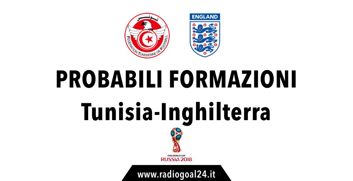 Tunisia-Inghilterra