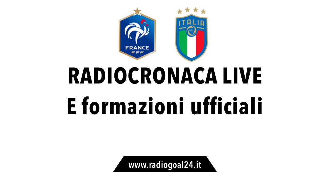 Francia-Italia radiocronaca