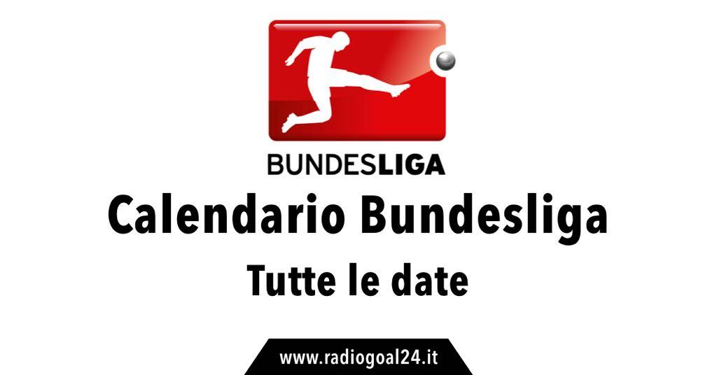 Calendario Bundesliga