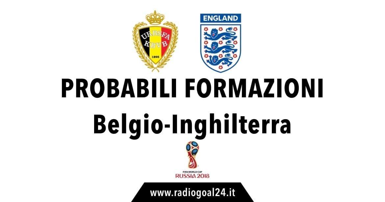 Belgio-Inghilterra