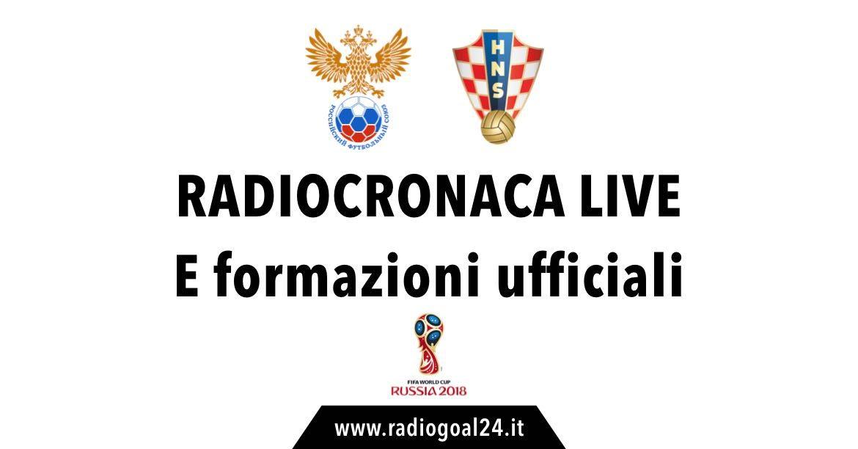 Russia-Croazia formazioni ufficiali