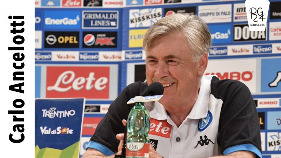 Conferenza stampa Ancelotti