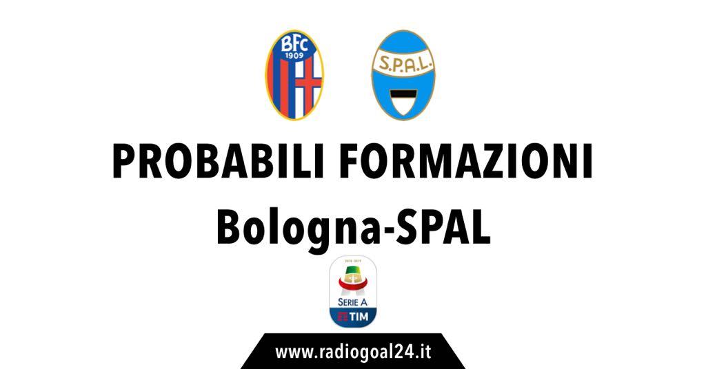 Bologna-SPAL probabili formazioni