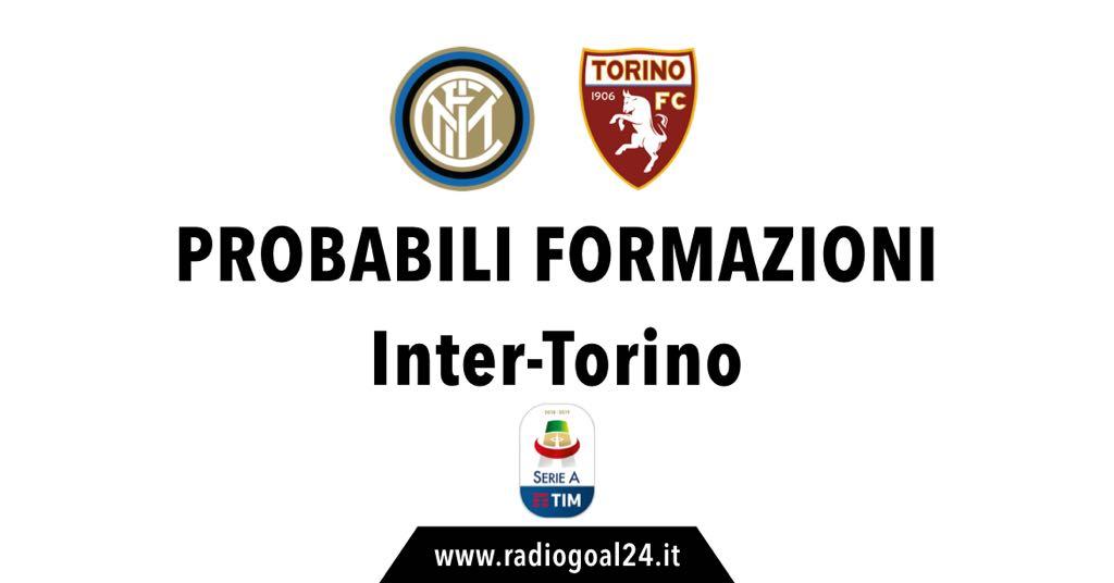Probabili formazioni Inter-Torino