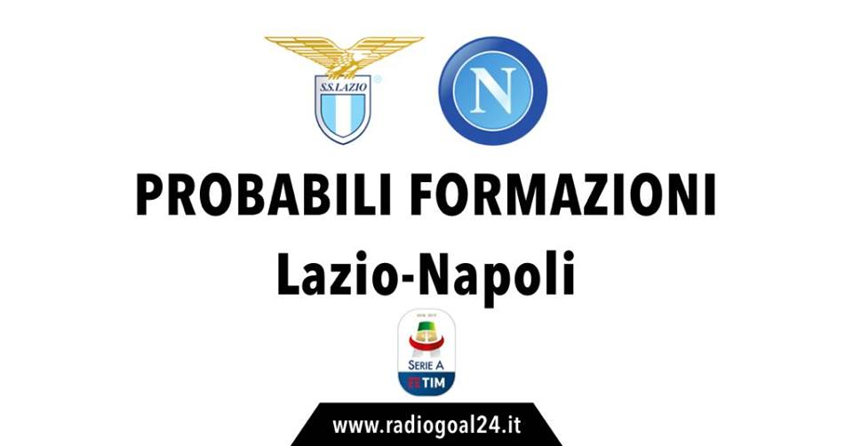 Lazio-Napoli probabili formazioni