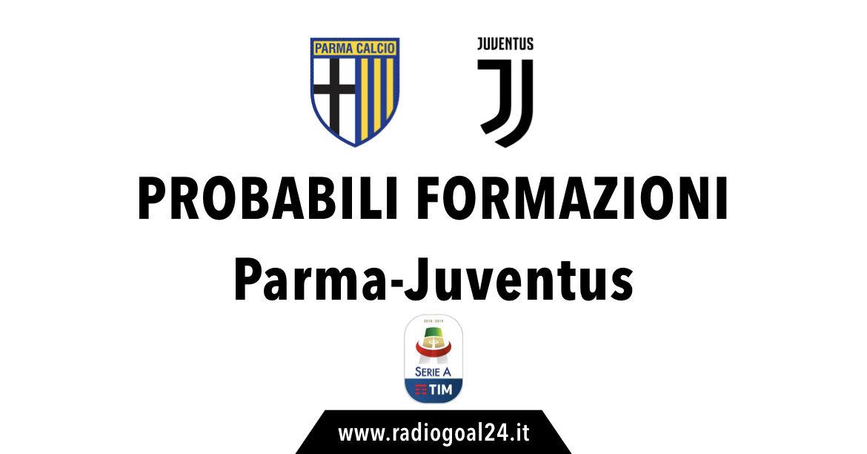 Parma-Juventus probabili formazioni