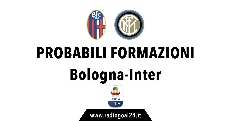 Bologna-Inter probabili formazioni