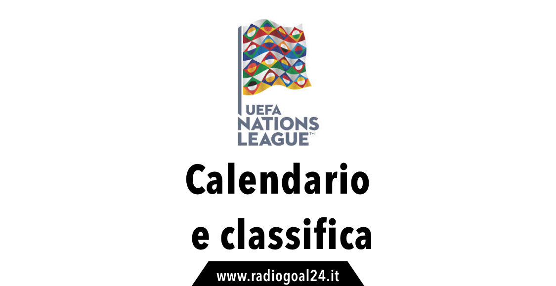 Calendario e Classifica UEFA Nations League 2018-2019