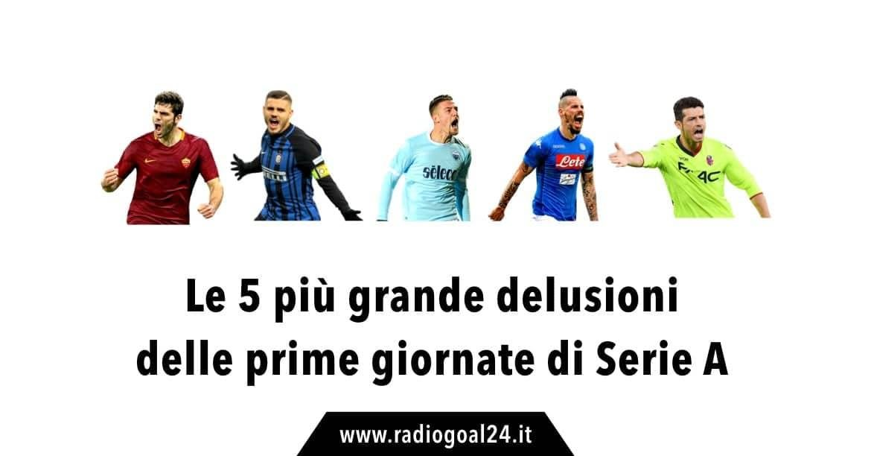 Più grandi delusioni Serie A