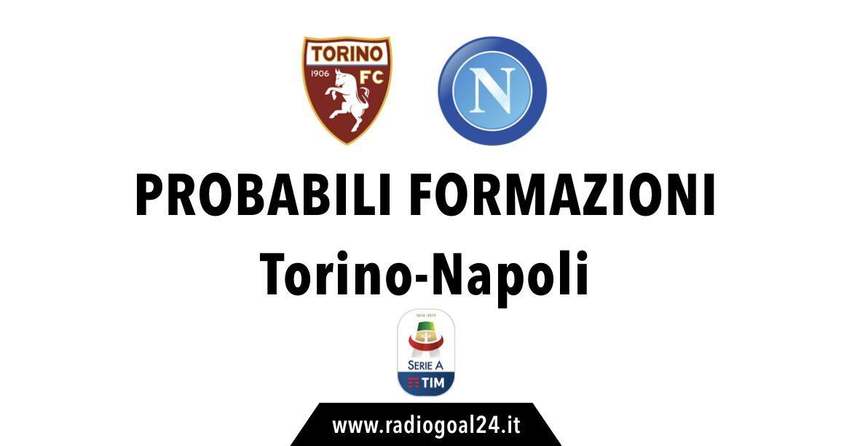Torino_napoli probabili formazioni