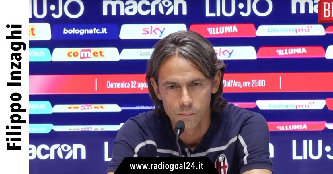 Inzaghi Bologna-Udinese