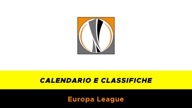 Europa League Napoli Calendario.Calendario E Classifiche Europa League 2018 2019
