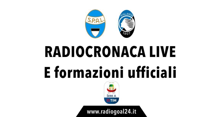Spal-Atalanta formazioni ufficiali