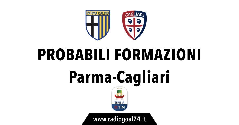 Parma-Cagliari probabili formazioni
