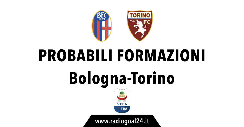 Bologna-Torino probabili formazioni