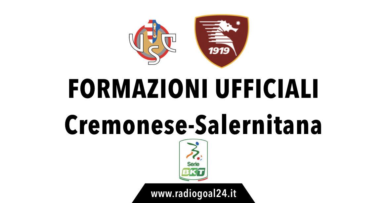 Cremonese-Salernitanaformazioni ufficiali