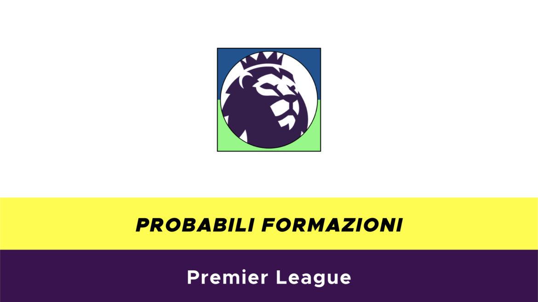 Premier League probabili formazioni