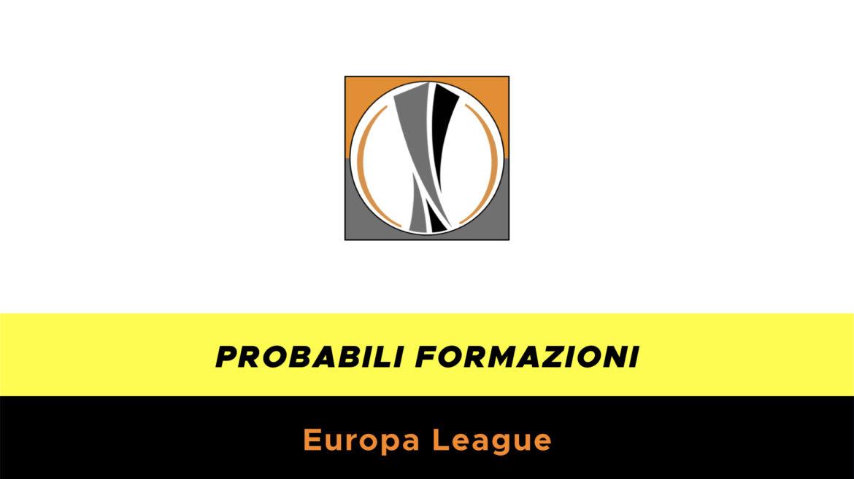 Probabili formazioni Europa League