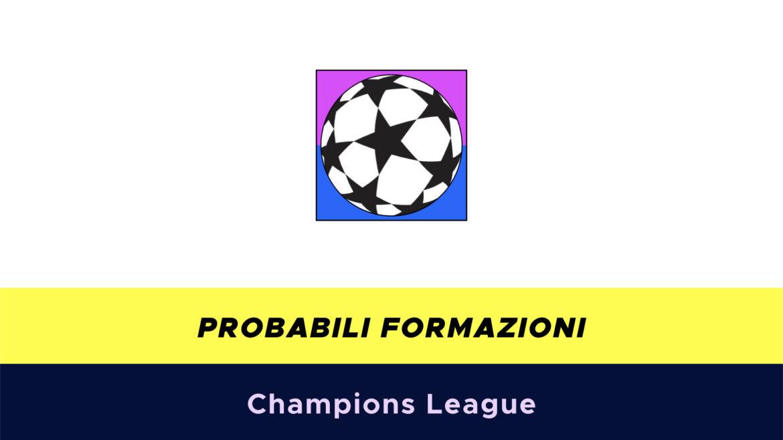 Champions League probabili formazioni