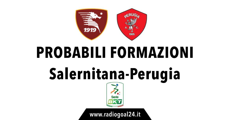 Salernitana-Perugia probabili formazioni