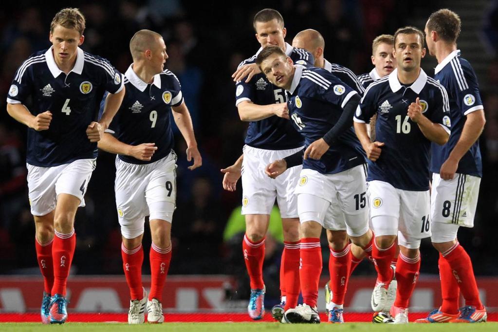 Israele-Scozia formazioni ufficiali