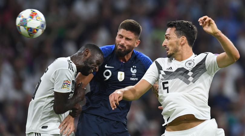 Francia-Germania formazioni ufficiali