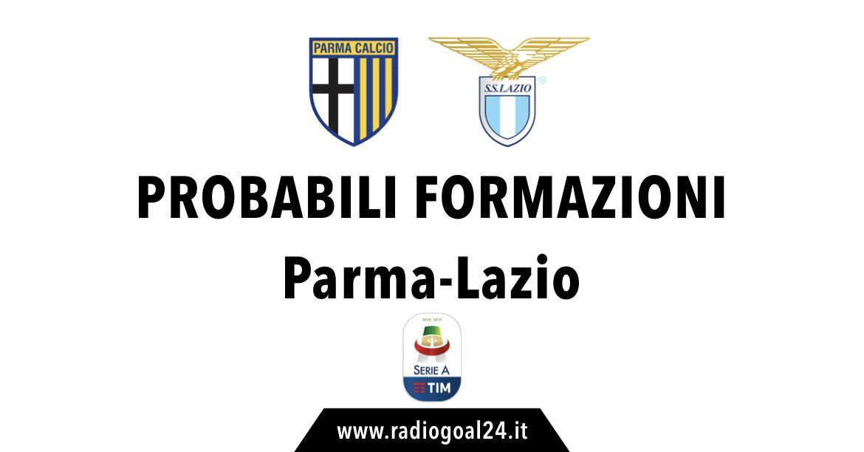 Parma-Lazio probabili formazioni