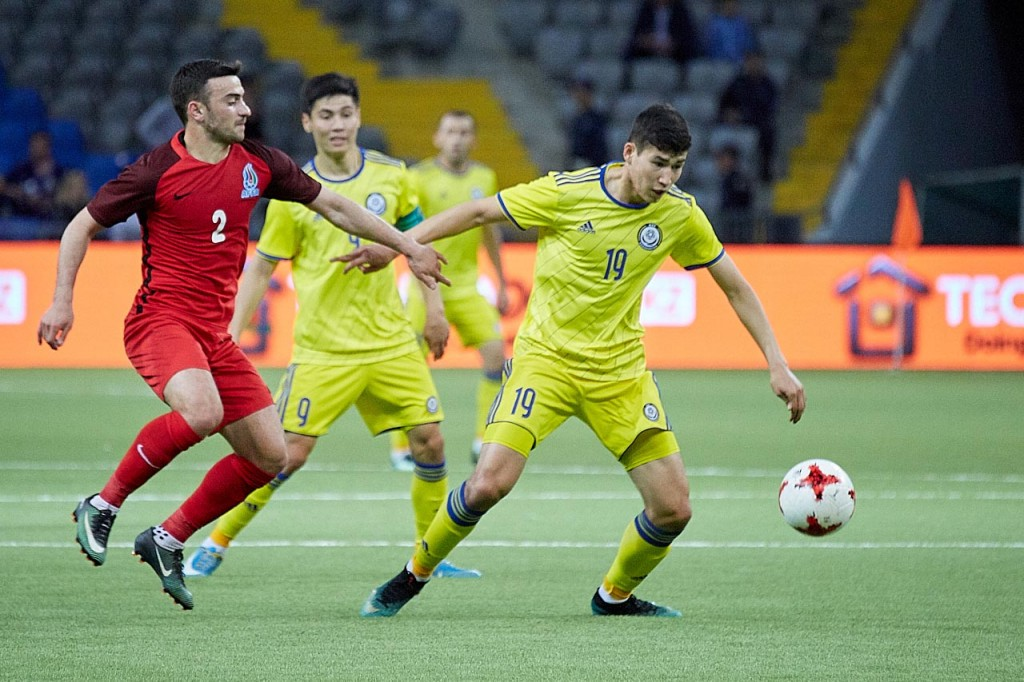 Georgia-Kazakistan formazioni ufficiali