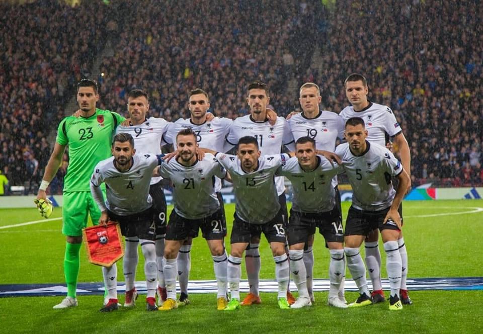Albania-Scozia formazioni ufficiali