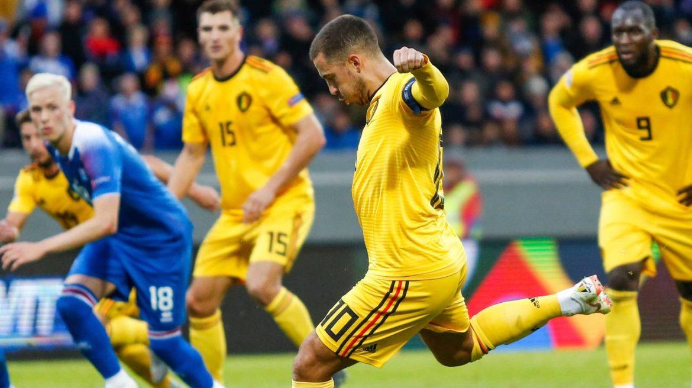 Belgio-Islanda formazioni ufficiali