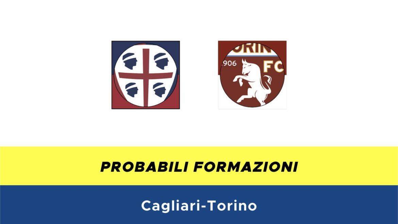 Cagliari-Torino probabili formazioni