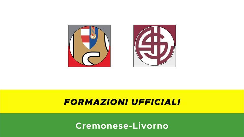 Cremonese-Livorno formazioni ufficiali
