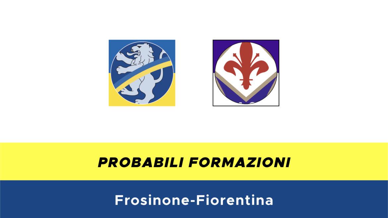 Frosinone-Fiorentina probabili formazioni