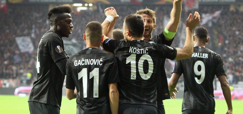 Eintracht-Marsiglia formazioni ufficiali