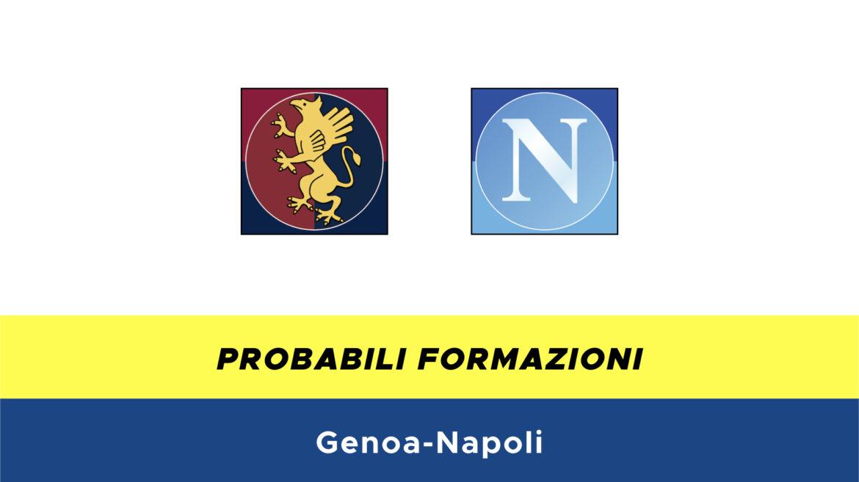 Genoa-Napoli probabili formazioni