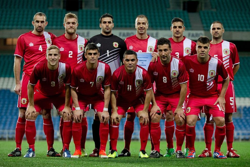 Gibilterra-Armenia formazioni ufficiali