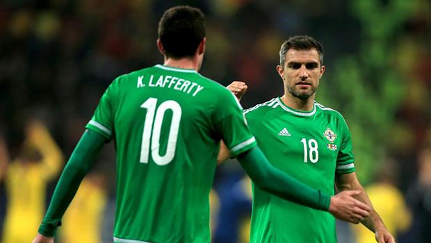Irlanda del Nord-Austria formazioni ufficiali