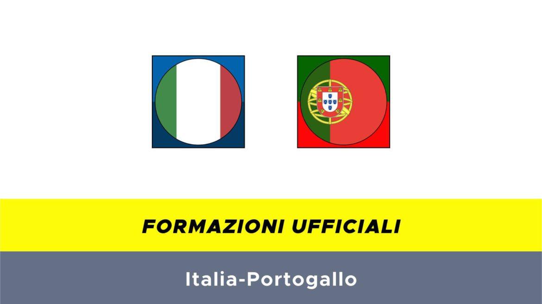 Italia-Portogallo formazioni ufficiali
