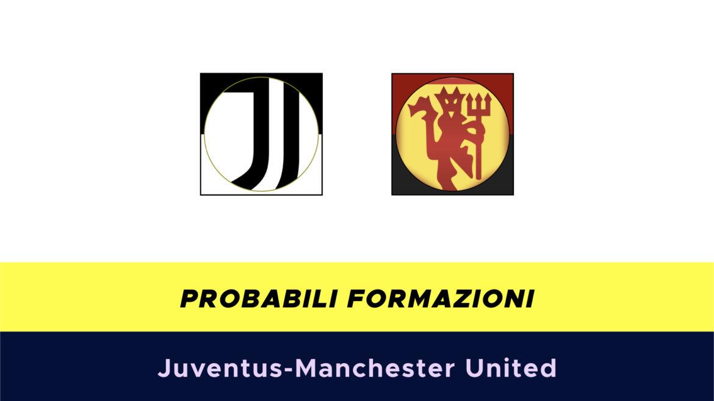 Juventus-Manchester United probabili formazioni