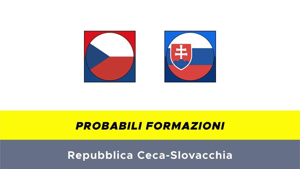 Repubblica Ceca-Slovacchia probabili formazioni