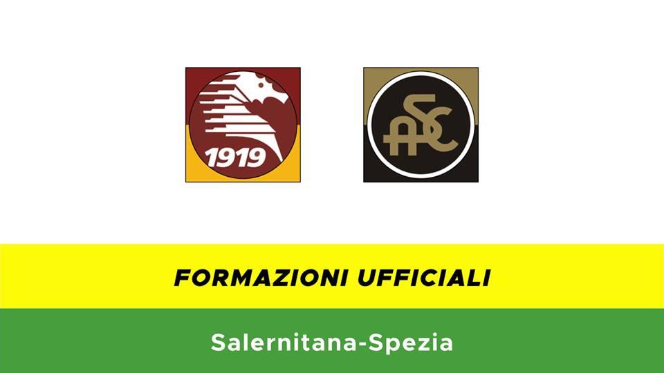 Salernitana-Spezia formazioni ufficiali