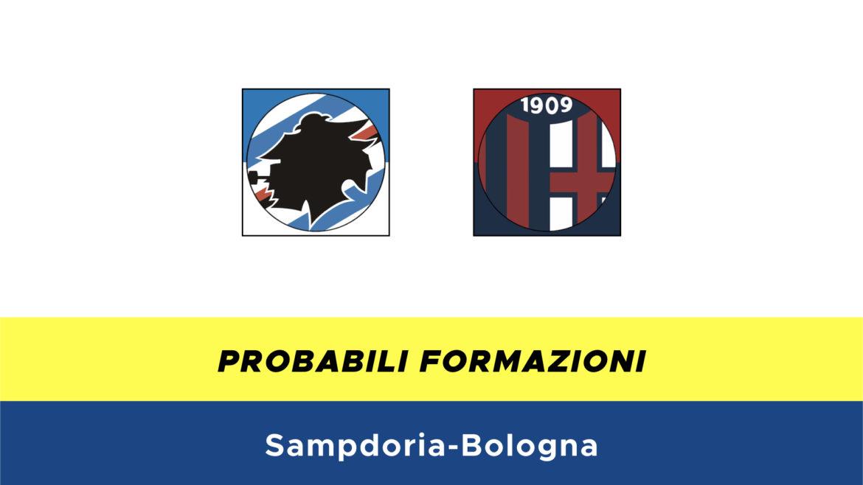 Sampdoria-Bologna probabili formazioni