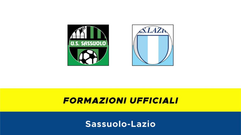 Sassuolo-Lazio formazioni ufficiali