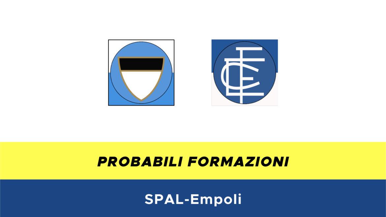 SPAL-Empoli probabili formazioni