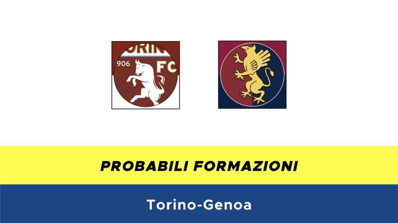 Torino-Genoa probabili formazioni