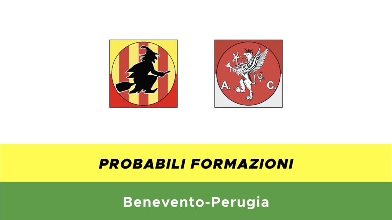Benevento-Perugia probabili formazioni