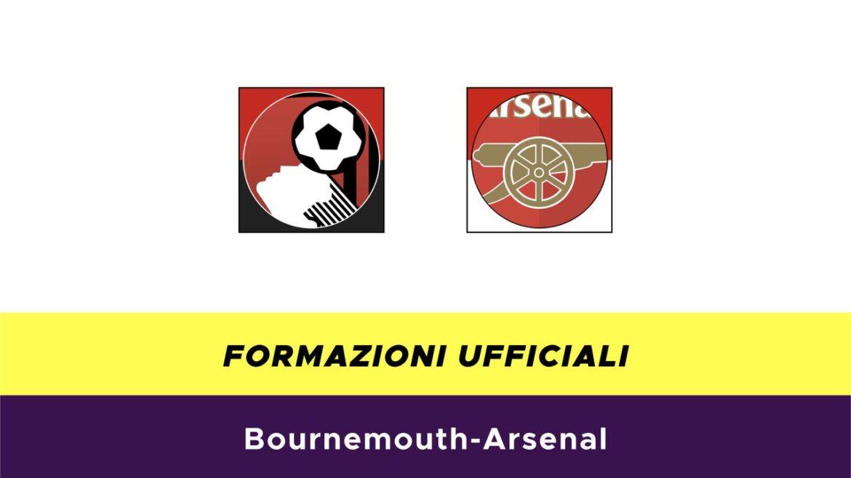Bournemouth-Arsenal formazioni ufficiali