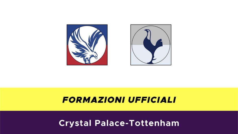 Crystal Palace-Tottenham formazioni ufficiali